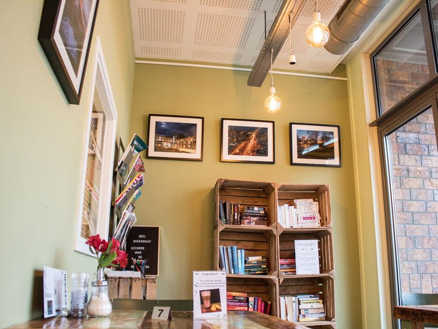 Expo ribw fotostudio in bakkerscafé